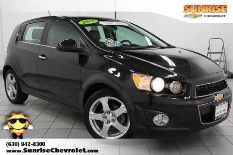 Certified Pre-Owned 2015 Chevrolet Sonic LTZ FWD 4D Hatchback
