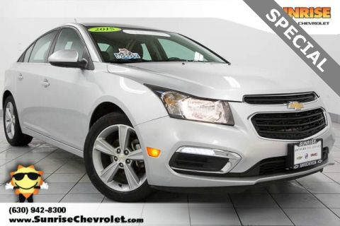 Certified Pre-Owned 2015 Chevrolet Cruze 2LT FWD 4D Sedan