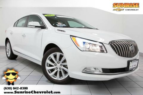 Certified Pre-Owned 2015 Buick LaCrosse Leather Group FWD 4D Sedan