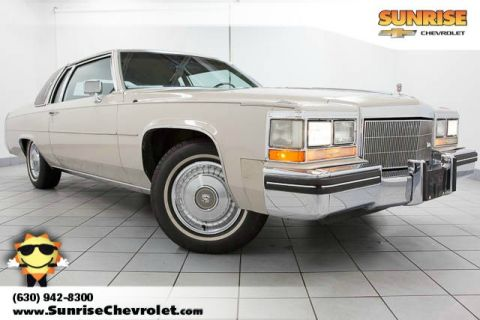Pre-Owned 1984 Cadillac DeVille Base FWD 2D Coupe