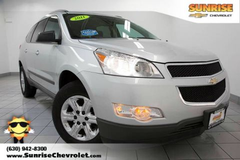 Pre-Owned 2011 Chevrolet Traverse LS FWD 4D Sport Utility