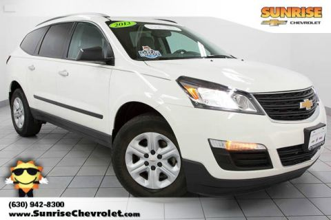 Certified Pre-Owned 2013 Chevrolet Traverse LS FWD 4D Sport Utility