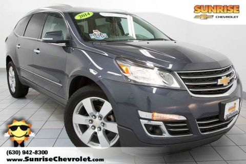 Certified Pre-Owned 2014 Chevrolet Traverse LTZ FWD 4D Sport Utility