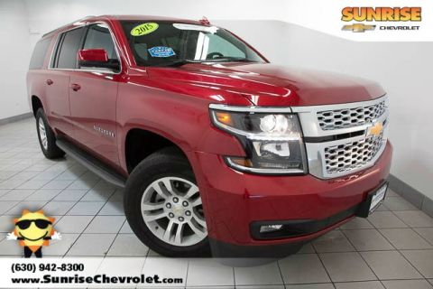 Certified Pre-Owned 2015 Chevrolet Suburban LT 4WD