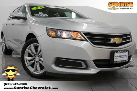 Certified Pre-Owned 2016 Chevrolet Impala  FWD 4D Sedan