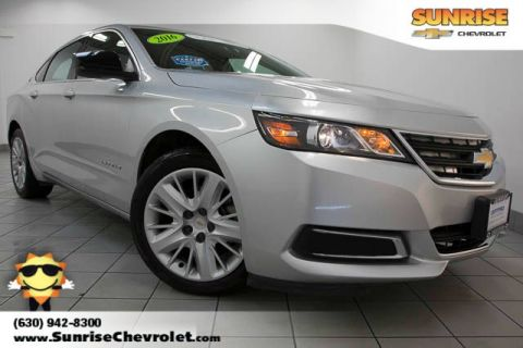 Certified Pre-Owned 2016 Chevrolet Impala LS FWD 4D Sedan