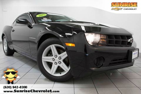 Certified Pre-Owned 2012 Chevrolet Camaro 2LS RWD 2D Coupe