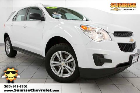 Certified Pre-Owned 2015 Chevrolet Equinox LS FWD 4D Sport Utility
