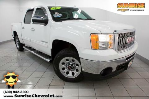 Certified Pre-Owned 2011 GMC Sierra 1500 SL 4WD