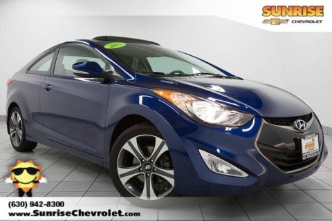 Pre-Owned 2013 Hyundai Elantra GS FWD 2D Coupe