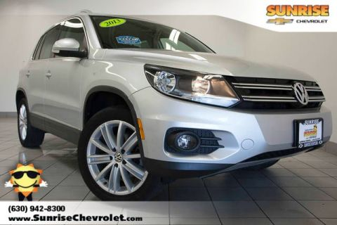 Pre-Owned 2013 Volkswagen Tiguan SEL FWD 4D Sport Utility
