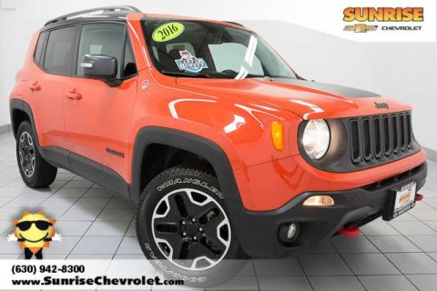 Pre-Owned 2016 Jeep Renegade Trailhawk 4WD