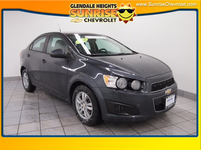 Certified Pre-Owned 2012 Chevrolet Sonic 2LS FWD Sedan