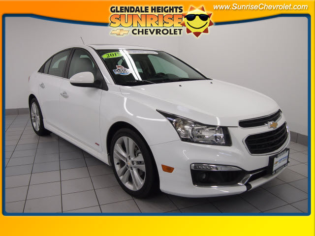 Certified Pre-Owned 2015 Chevrolet Cruze LTZ FWD Sedan