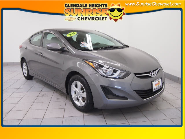 Pre-Owned 2014 Hyundai Elantra SE FWD Sedan