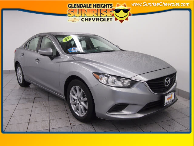 Pre-Owned 2015 Mazda Mazda6 i Sport FWD Sedan